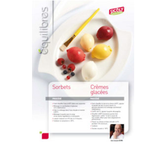 New SICOLY® Equilibres balanced recipe sheets