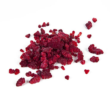 Raspberry pieces